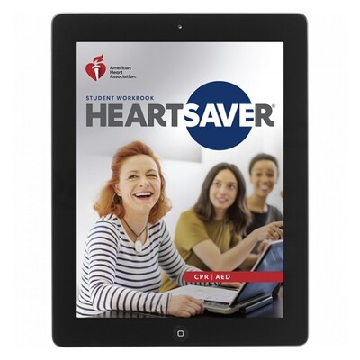 2020  Heartsaver CPR AED Student eBook 20-3116