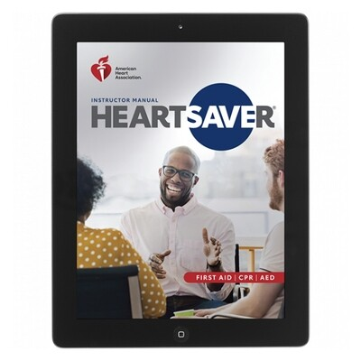 2020 Heartsaver First Aid CPR AED Instructor Manual eBook