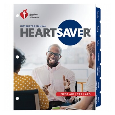 2020 Heartsaver First Aid CPR AED Instructor Manual