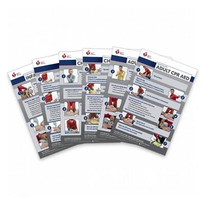 2020 Heartsaver Poster Pack (12-pack) 20-1146