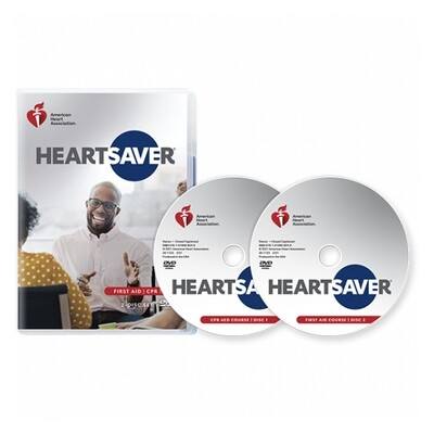 2020 Heartsaver First Aid CPR AED DVD 20-1123
