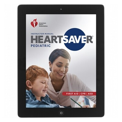 2020 Heartsaver Pediatric First Aid CPR AED Instructor Manual eBook 20-3112