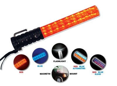 Flashback Five™ Light Baton The Brilliance of a Lightbar – The Size of a Flashlight