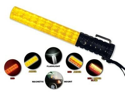 Flashback Five™ Light Baton Red/Amber