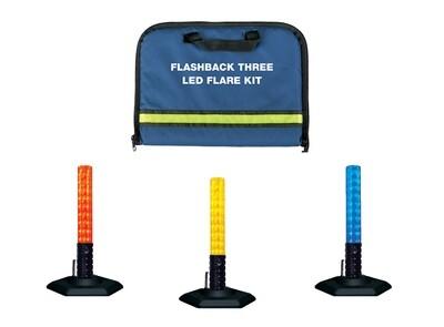 Flashback Three™ LED Flare Kit The Most Intense LED Safety Flare Available
