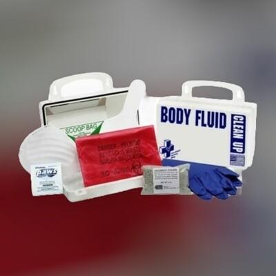 10PW - National Standard Body Fluid Kit - Poly White 200-902*