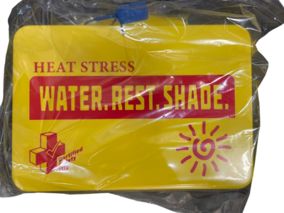 Heat Stress Kit -   Class A Outdoor - Poly Yellow- Certified  613-040