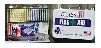 Class B 36 Metal First Aid Kit