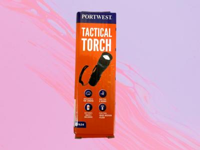 Flashlights - Portwest Tactical Flashlight PA54