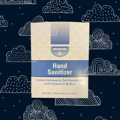 Hand Sanitizer - 1 g Individual packets - Waterjel - Certified 213-031 - 144/box
