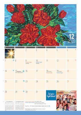 12 x Calendar 2020