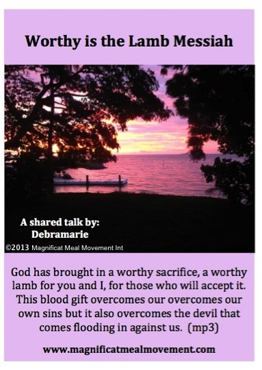 Worthy is the Lamb Messiah DL10148