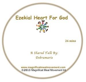 Ezekial Heart For God DL10153
