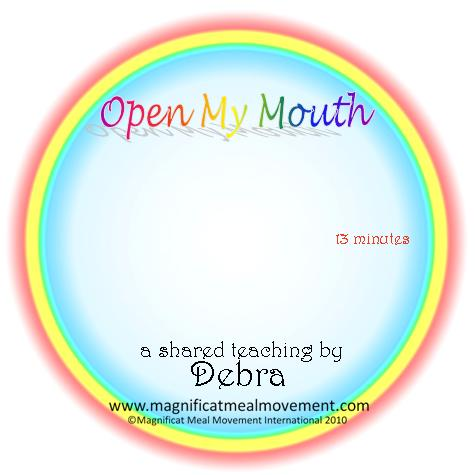 Open My Mouth DL10124