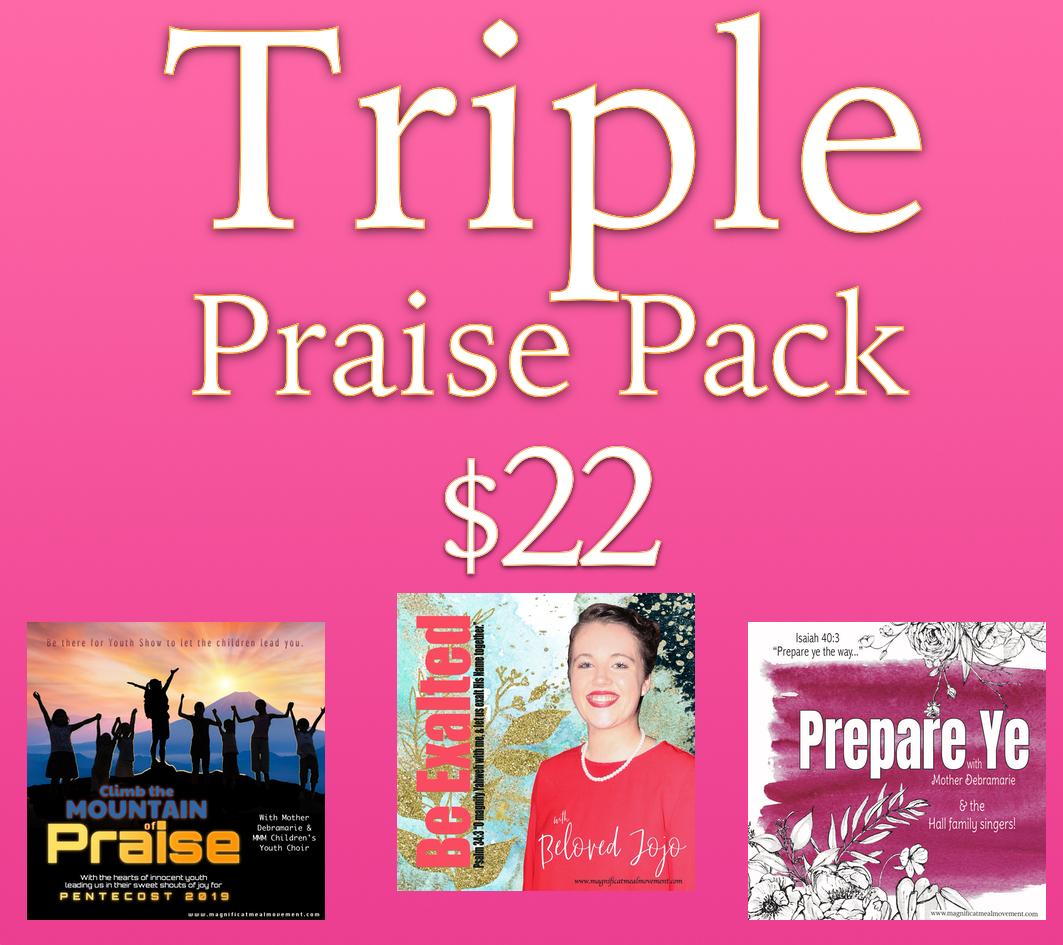 Triple Praise Pack 10445