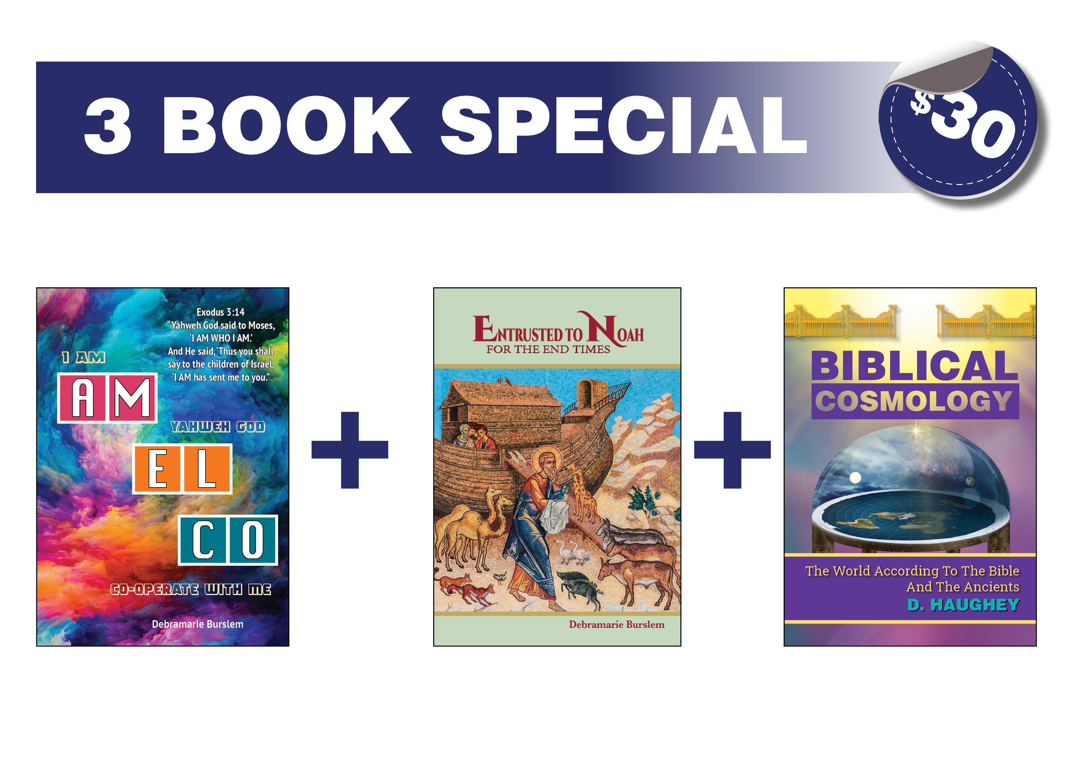 3 Book Special 10489