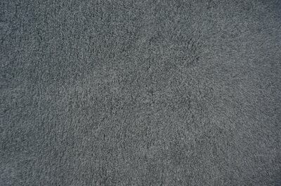 {Single Sheets} : Ultra Premium - Green Backing : Plain Charcoal - Ref : (3234)