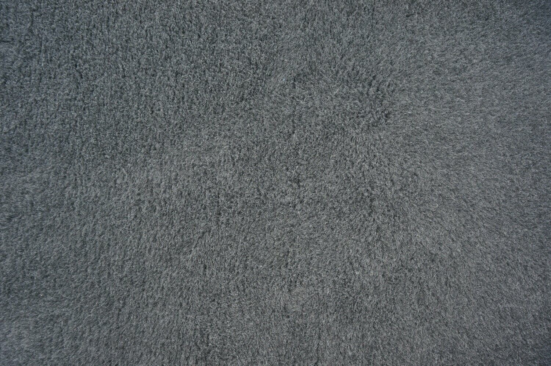 Minimum {15 x Metre Roll} :    Ultra Premium -  Green Backing Plain Charcoal - Ref : (3234)