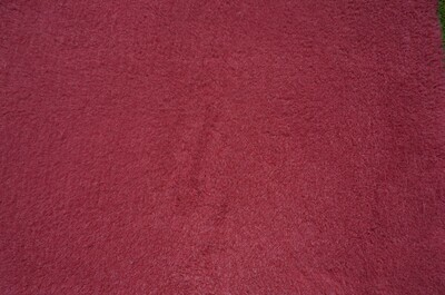 Minimum {15 x Metre Roll} : Ultra Premium - Green Backing : Plain Burgundy - Ref : (3244)