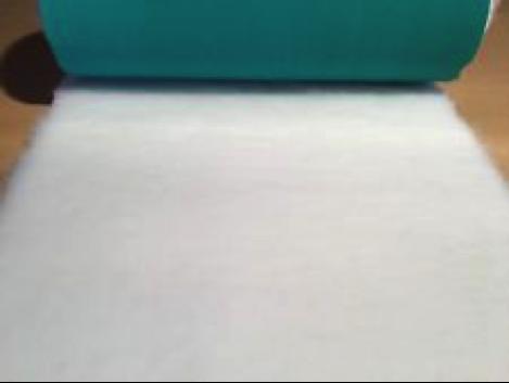 Minimum {15 x Metre Roll} : Ultra Premium - Green Backing : Plain White - Ref : (3254)