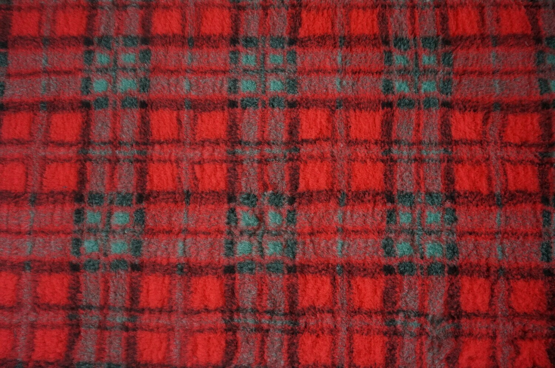 (Single Sheets) Premium - Non Slip Backing : Red Diamond Tartan - Ref : (6316)