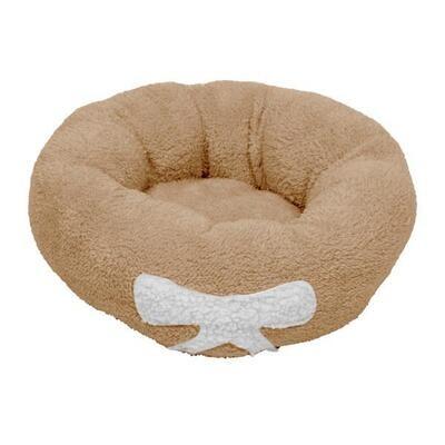 Dog / Cat Calming Bed  - Warm Soft Plush  - Ref : (7601)