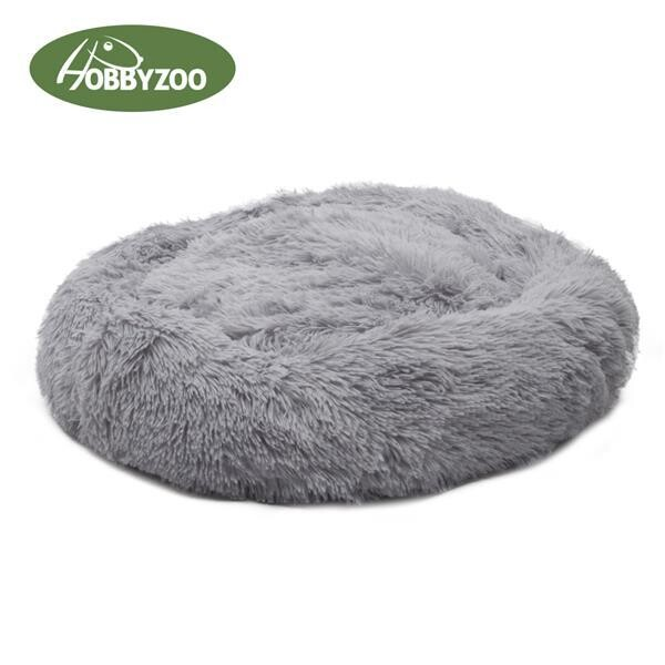 Dog / Cat Calming Beds : Warm and Soft Plush - Ref : (7607)