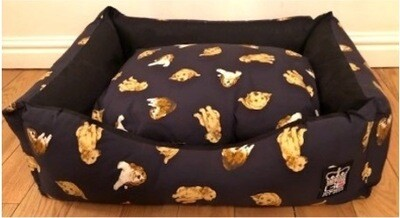 Petbeddingstore : Nature Bed Settee's - Fibre Filled : Ref (7596)