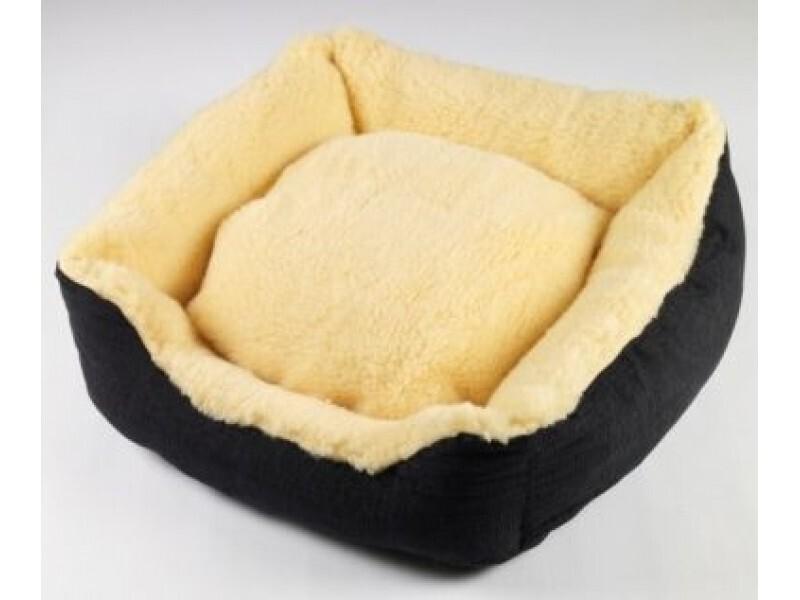 Senior Gold Sheepy Dog Bed - Ref : (6294)