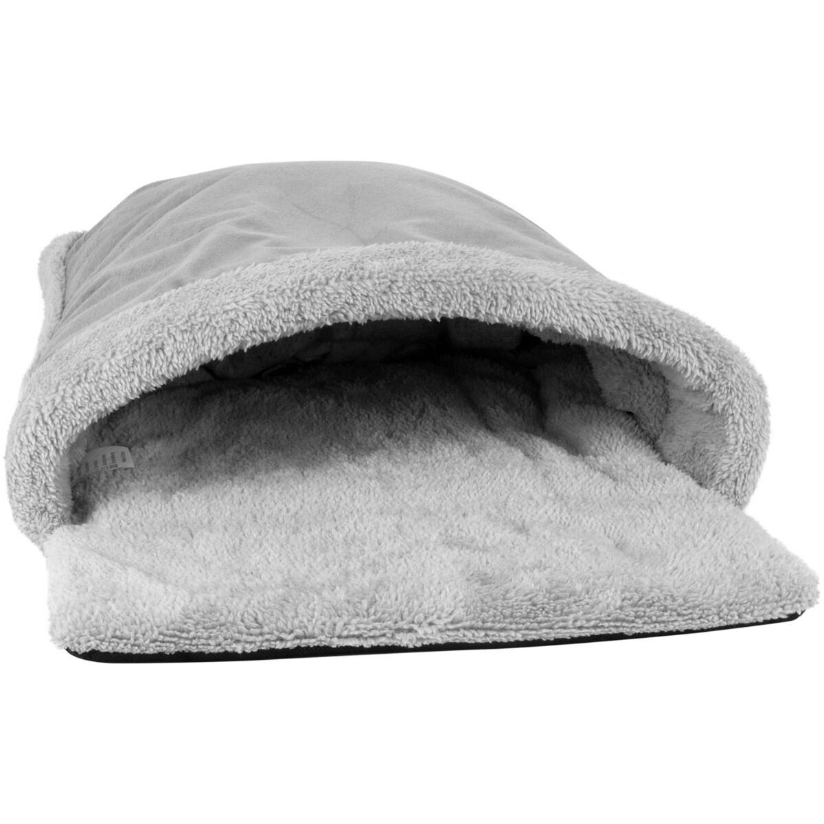 Cosy Cat Pouch Bed - Grey - Ref (6332)