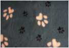 Ultra Premium Non Slip - Big Paw : Green with Large Yellow & Smaller Black Paws (Ref: 6385 )
