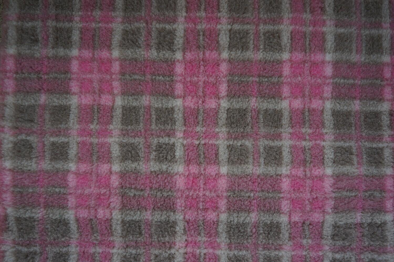 Ultra Premium Non-Slip: Mink & Pink Diamond Tartan (Ref: 6298)