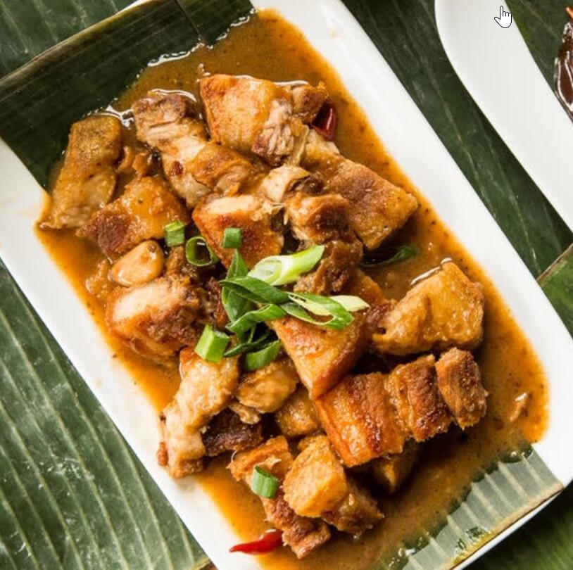 Crispy Pork Coconut Curry (Bicol Express) *Good for 2*