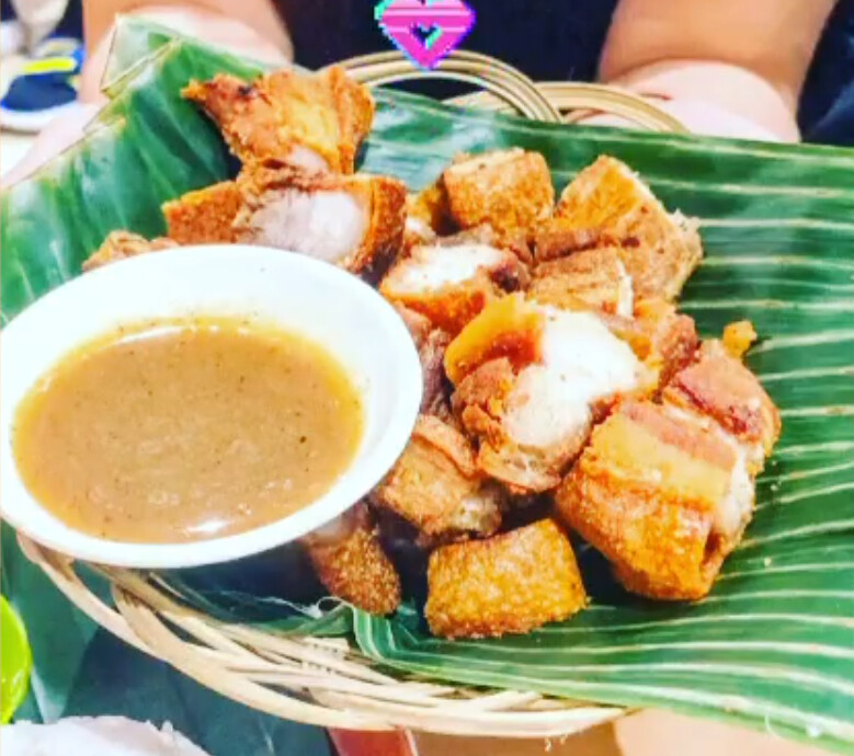 Crispy Fried Pork Belly (Lechon Kawali) *Good for 2*