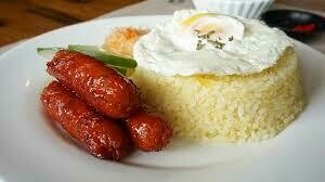 Longsilog w/Rice*Good for 1*