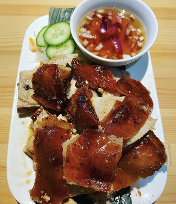 200 grams of Original or Hot & Spicy Cebu Lechon **NO RICE**