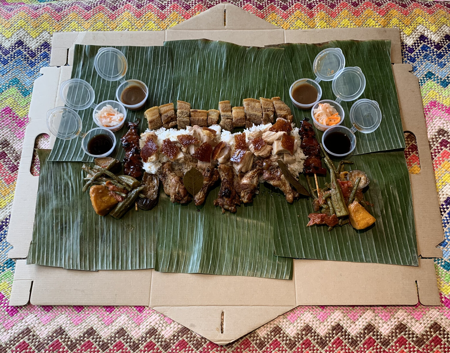 Kamayan Box Takeaway (DIY) good for 2-3 person