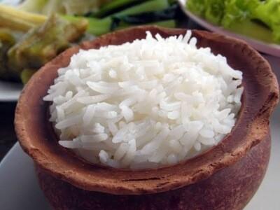 Single Serve of Plain Rice