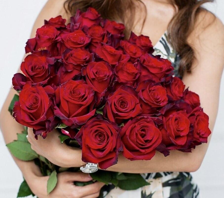 Букет из 25 роз Эквадор Эксплорер