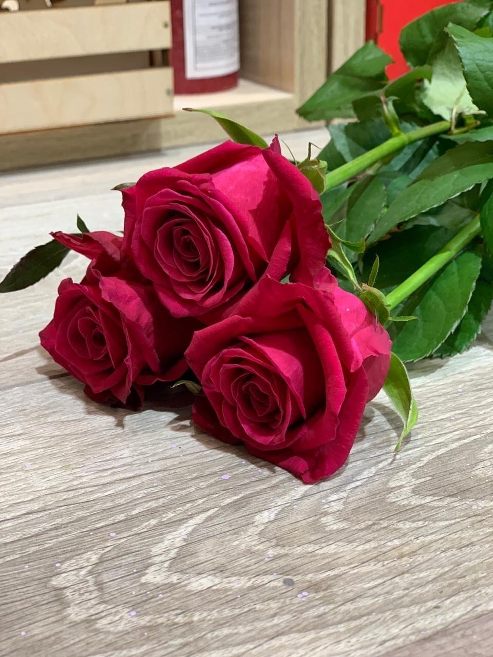 Роза малиновая, по-штучно