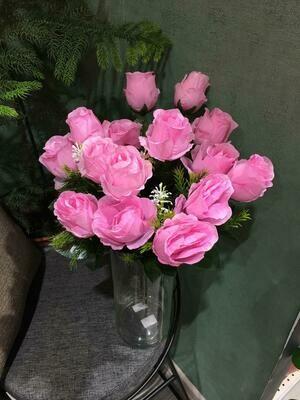 Искусственные цветы Роза Бутоны
