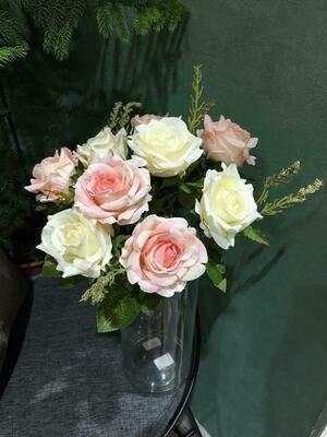 Искусственные цветы Роза Евро