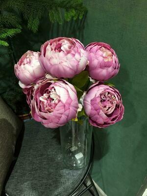 Искусственные цветы Пионы