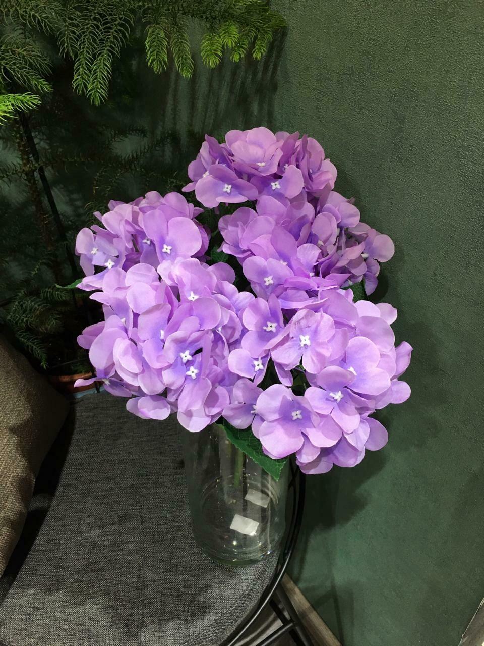 Искусственные цветы Гортензия