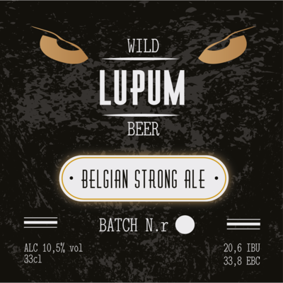 LUPUM  Belgian Strong Dark Ale