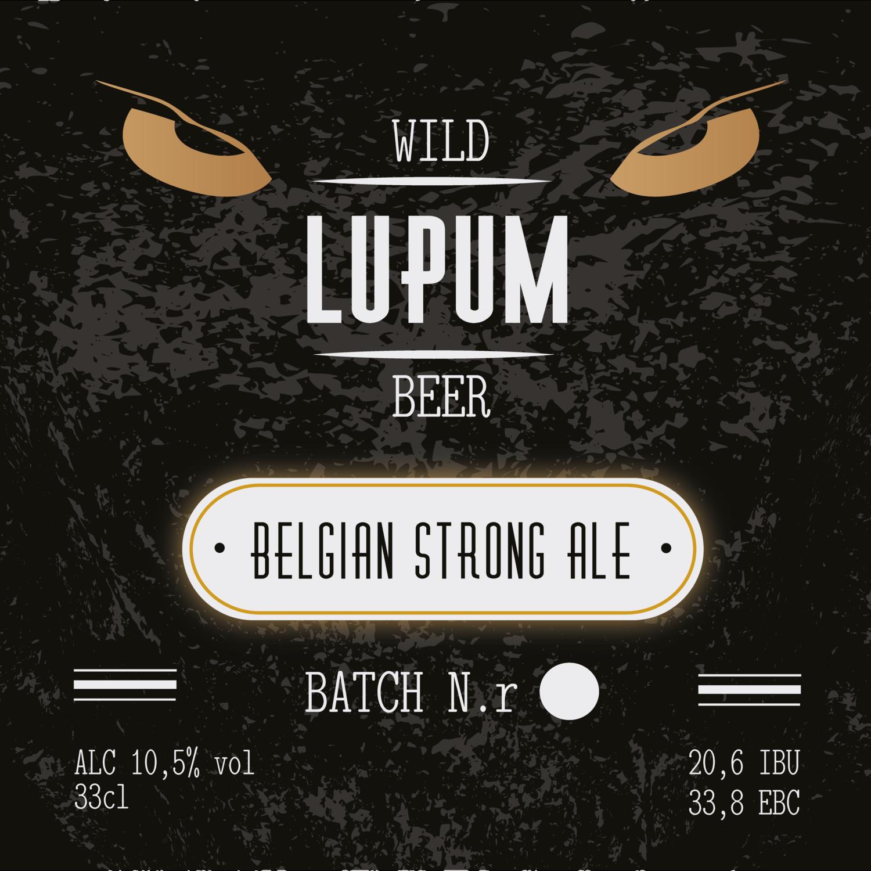 LUPUM  Belgian Strong Dark Ale