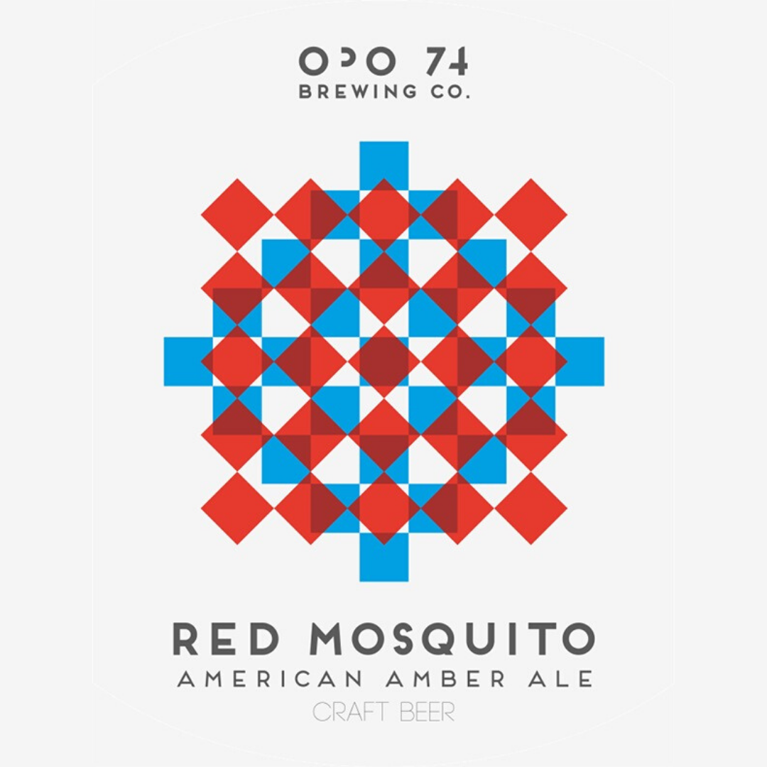 24 x OPO 74 Red Mosquito