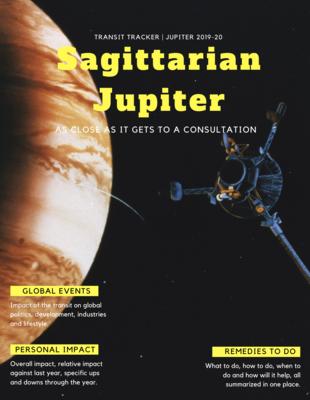 Transit Tracker 001 - Sagittarian Jupiter