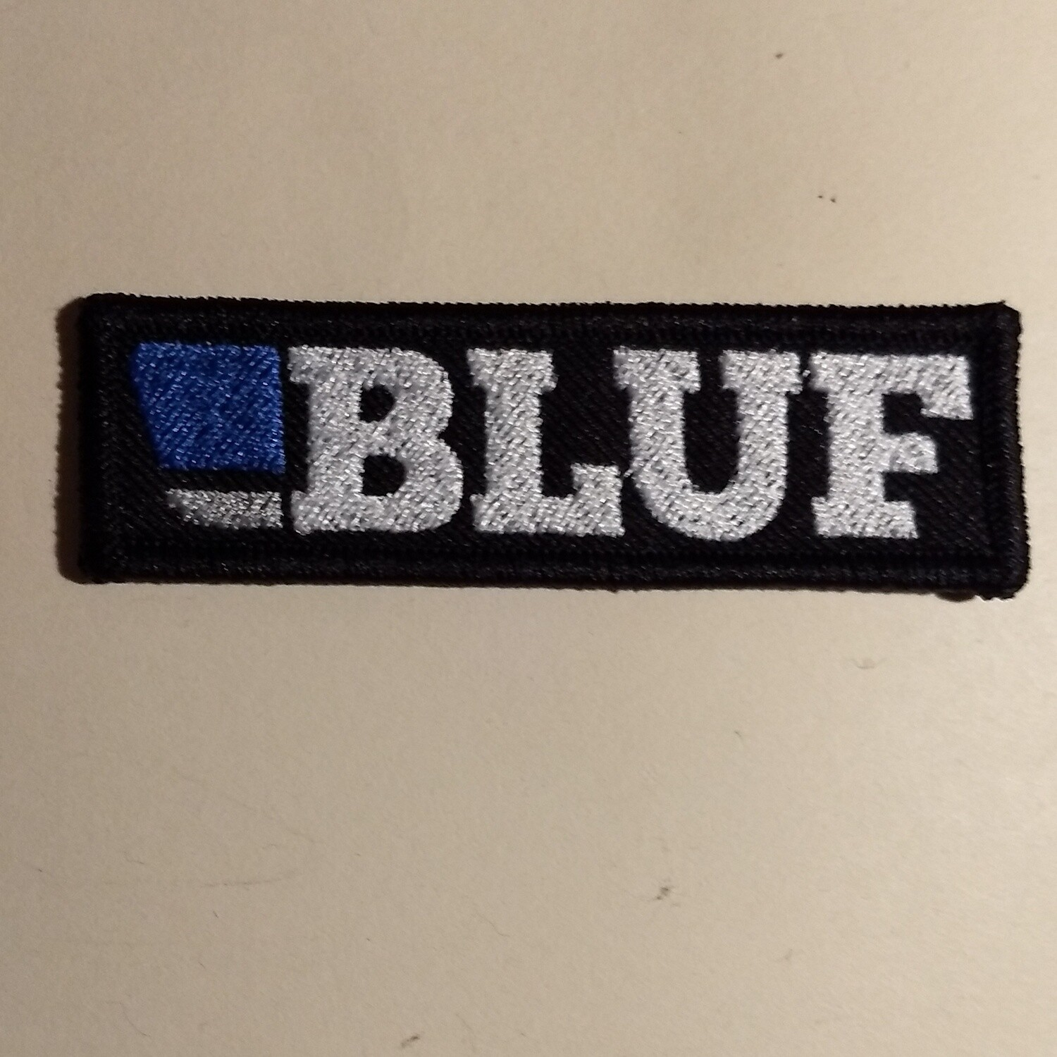 BLUF Embroidered badge - rectangle
