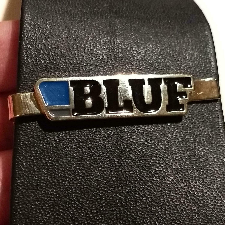 BLUF tie clip - gilt